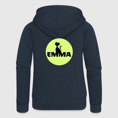 Emma Name First name - Women's Premium Hooded Jacket