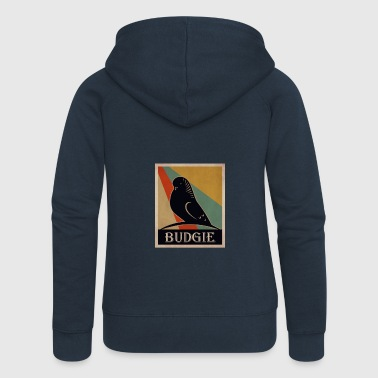 budgie - Women's Premium Hooded Jacket