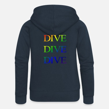 divedivedivebali - Women's Premium Hooded Jacket