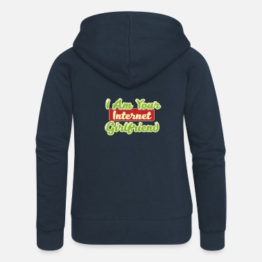 Girlfriend Girlfriend - Women's Premium Zip Hoodie