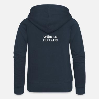 Citizen World Citizen - Women's Premium Zip Hoodie