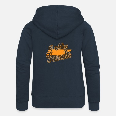 Knoxville I Miss Knoxville - Women's Premium Zip Hoodie