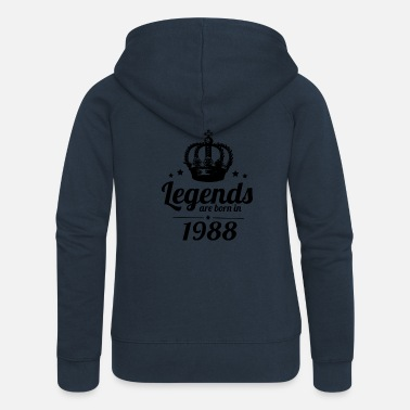 1988 Legends 1988 - Women's Premium Hooded Jacket