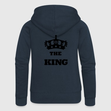 THE_KING - Women's Premium Hooded Jacket