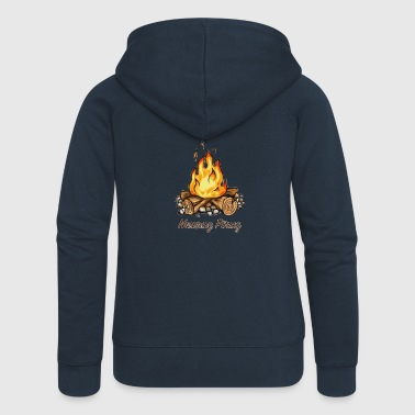 Happy Newruz / Newruz fire. - Women's Premium Hooded Jacket