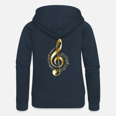 Music musical note - Women's Premium Hooded Jacket