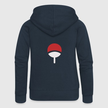 Clan uchiha logo - Women's Premium Hooded Jacket