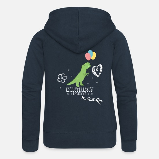 Birthday Hoodies & Sweatshirts - Birthday party - Women's Premium Zip Hoodie navy