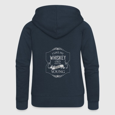 Whisky-T-shirt - Whisky - Scotch - Bourbon - Dame Premium hættejakke