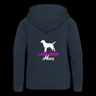Gift for Labrador mothers women - Women's Premium Hooded Jacket