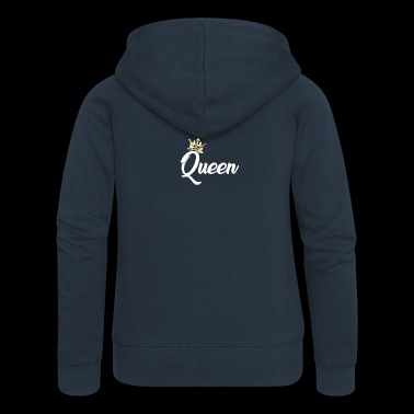 Queen Crown Royal Matchande Couples Designs - Premium luvjacka dam