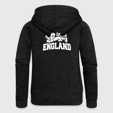 england with lion - Women's Premium Hooded Jacket