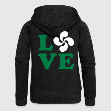 love euskadi - Women's Premium Hooded Jacket