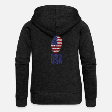Usa Made in USA / Made in USA Amerika - Vrouwenjack met capuchon Premium