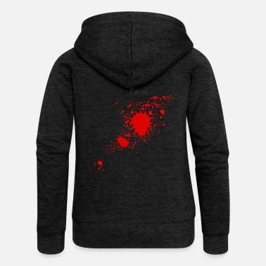 Bloodstains Bloodstain - Women's Premium Hooded Jacket