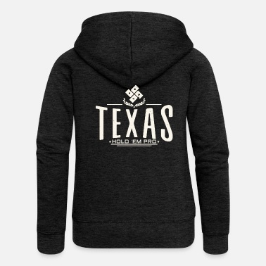 Holdem Texas Hold'Em - Women's Premium Zip Hoodie