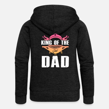 King of dad - Frauen Premium Kapuzenjacke