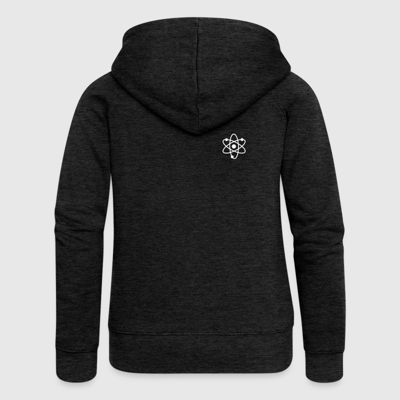 science symbol / nerd - Women's Premium Hooded Jacket