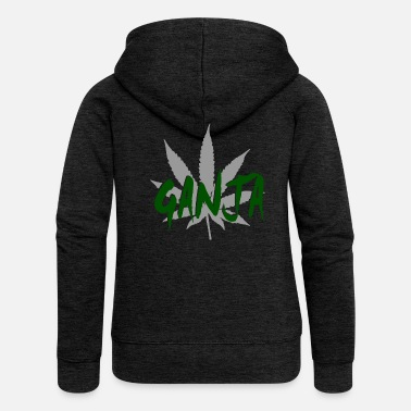 Ganja ganja - Women's Premium Hooded Jacket