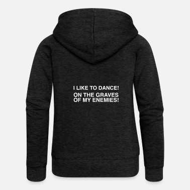 Rick And Morty Rick & Morty - I Like To Dance - Women's Premium Zip Hoodie