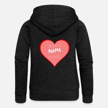Officialbrands Best Mom Gift for Mother's Day - Women's Premium Zip Hoodie