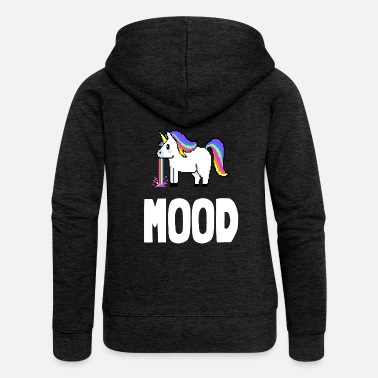 Mood UNICORN MOOD - Frauen Premium Kapuzenjacke