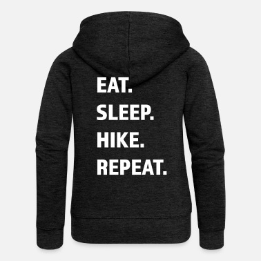 Winter Funny saying for outdoor wanderer berg - Women's Premium Zip Hoodie