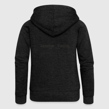 Scooter Tuning not a Crime - Women's Premium Hooded Jacket