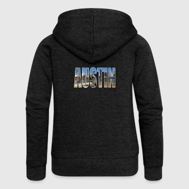 Austin USA - Women's Premium Hooded Jacket
