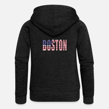 Boston BOSTON USA - Women's Premium Hooded Jacket