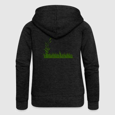 Grass - Women's Premium Hooded Jacket