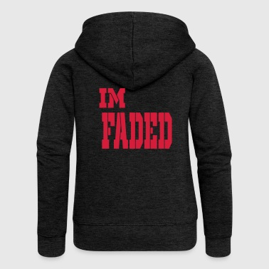 im faded - Women's Premium Hooded Jacket