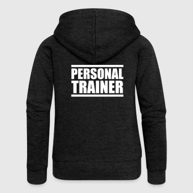 Personal Trainer - Gym motivation - Yoga - Women's Premium Hooded Jacket