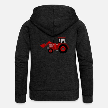Tractor tractor - Women's Premium Hooded Jacket
