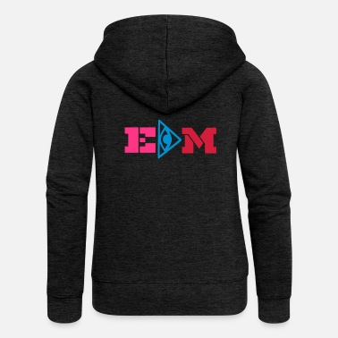 Edm edm - Women's Premium Hooded Jacket