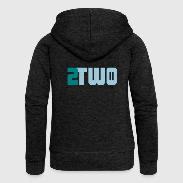 two two doubles - Women's Premium Hooded Jacket