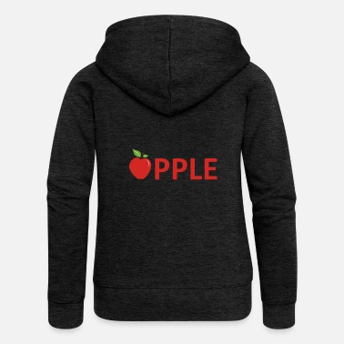 Apples Apple Apple - Women's Premium Zip Hoodie