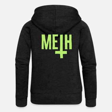 Antichrist Meth Antichrist - Women's Premium Hooded Jacket