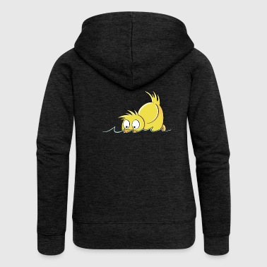 Duck Duck - Duck comic - Women's Premium Hooded Jacket