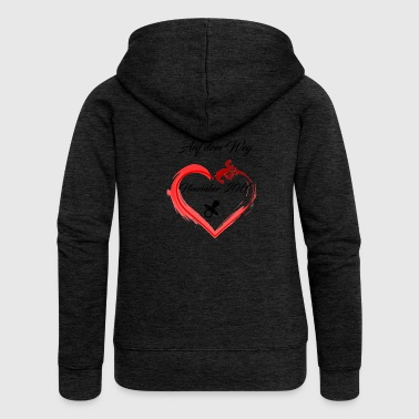 The design for parents, parenting - Women's Premium Hooded Jacket
