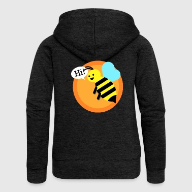 Cool bumble bee - Women's Premium Hooded Jacket