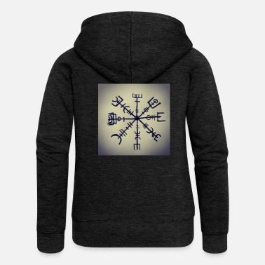 Rune Viking runes - Women's Premium Hooded Jacket