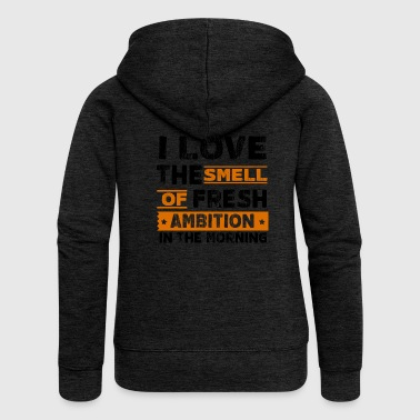 ambition - Women's Premium Hooded Jacket