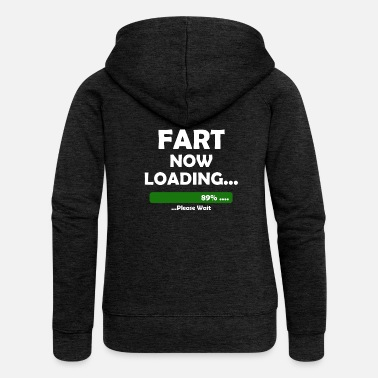 Farting Fart - Women's Premium Hooded Jacket
