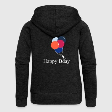 Happy Birthday! Happy Birthday! - Women's Premium Hooded Jacket