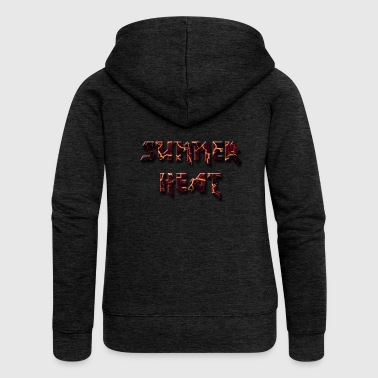 Summer heat - Summer Heat - Women's Premium Hooded Jacket