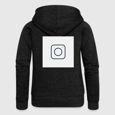 instagram - Women's Premium Hooded Jacket
