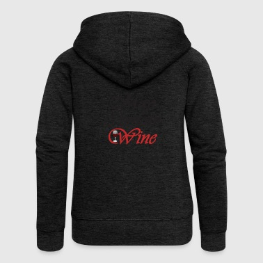 Could contain wine - red wine gift - Women's Premium Hooded Jacket
