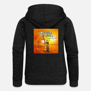 Tequila Sunrise Tequila Sunrise - Women's Premium Hooded Jacket