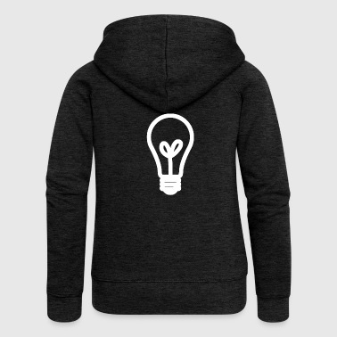 Light bulb lamp light Brine light bulb - Women's Premium Hooded Jacket